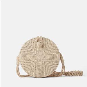 Zara Round Rope Crossbody Bag